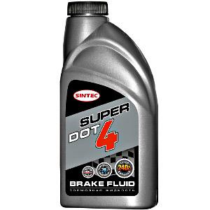 Тормозная жидкость SUPER DOT-4 SINTEC