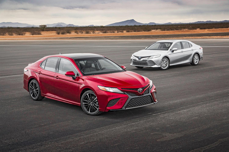 Toyota начала продажи обновлённой Camry